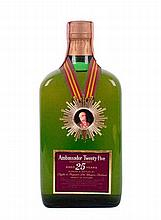Ambassador De Luxe Scotch Whisky - 25 years old