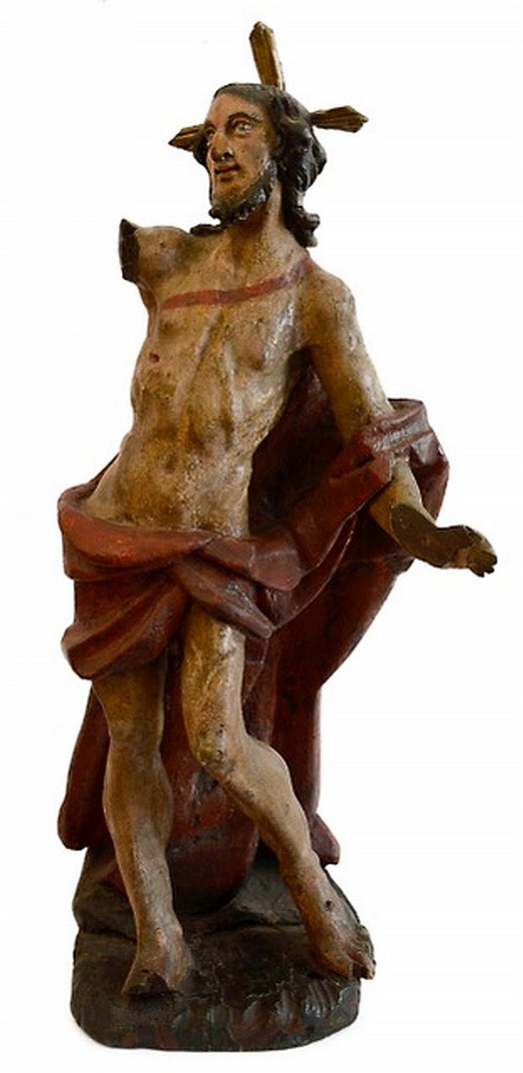 Risen Christ, Genoa early XVIII century
