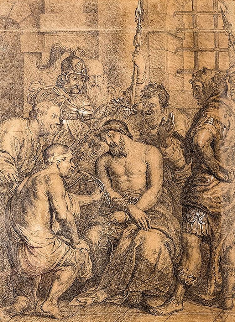 Italian School of the 18th century, The Mocking of Christ