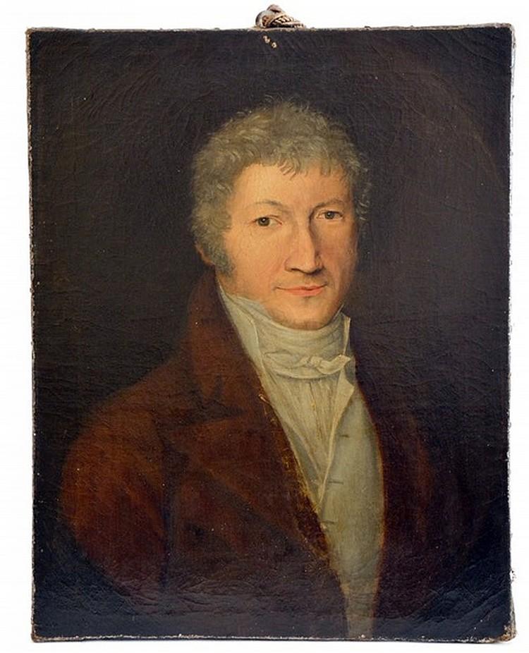 Painter of the XIX century, Portrait of a nobleman