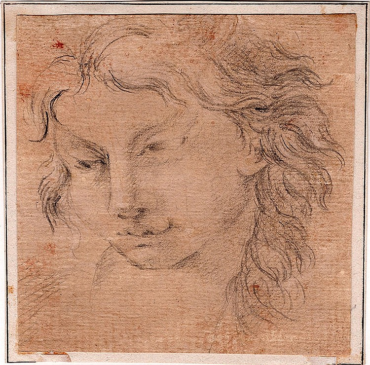 Emilian School, 17th century Study of a devil