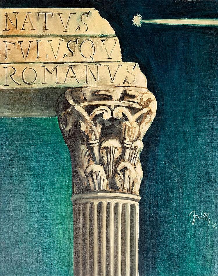 Fabio Failla ( 1917 - 1987 ), Ancient Rome