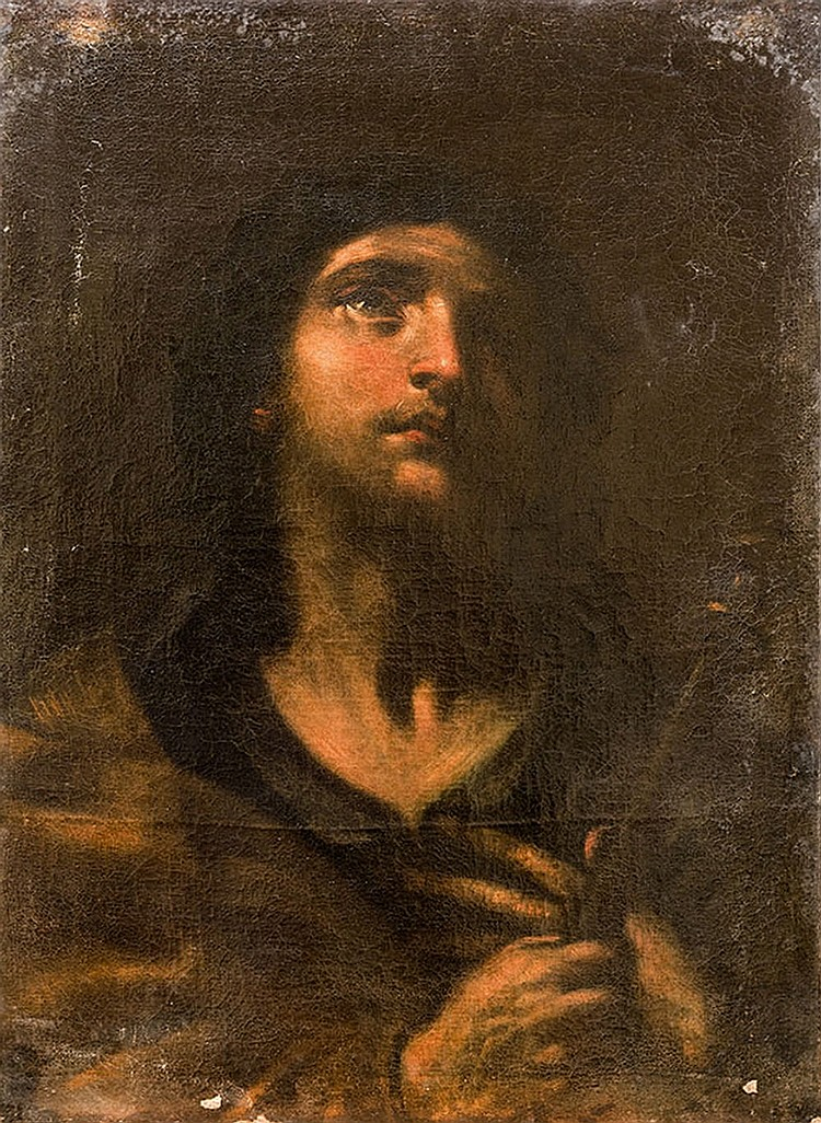 Attributed to Flaminio Torri (Bologna 1620-1661 Modena) Saint