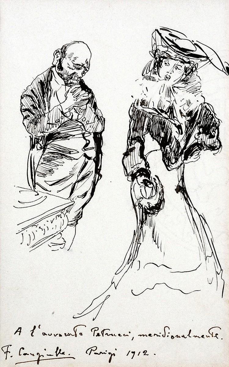 Francesco Cangiullo (1884 - 1977) Courtship