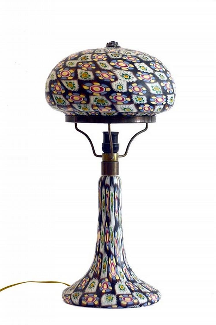 Table lamp, Tiffany style, XX century