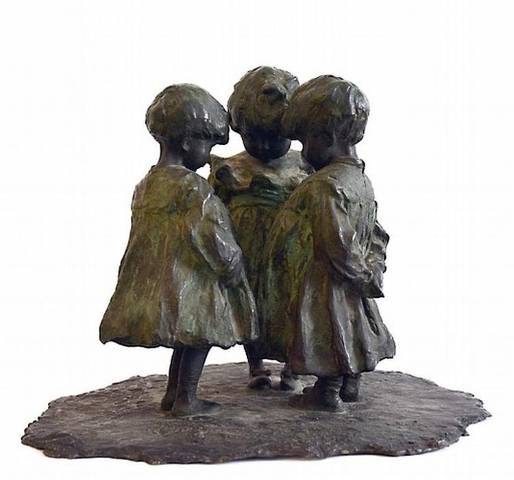 Giovanni Prini (1878-1858),The children's secret, early XX century,