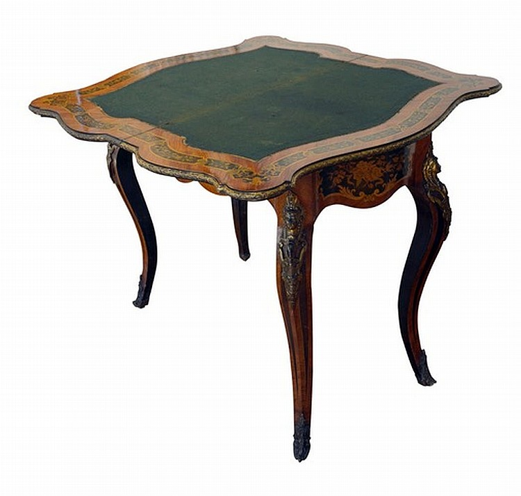 Game table, style Louis XV