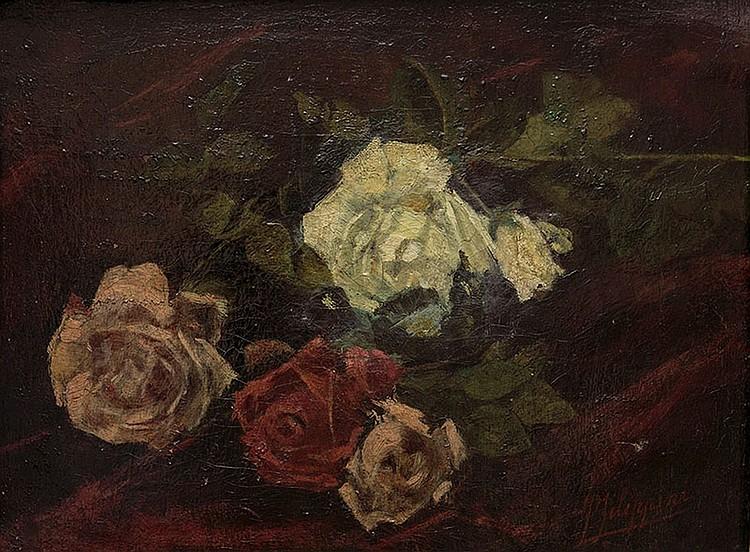 Francesco Filippini (Brescia 1853 - Milano 1895) Flowers
