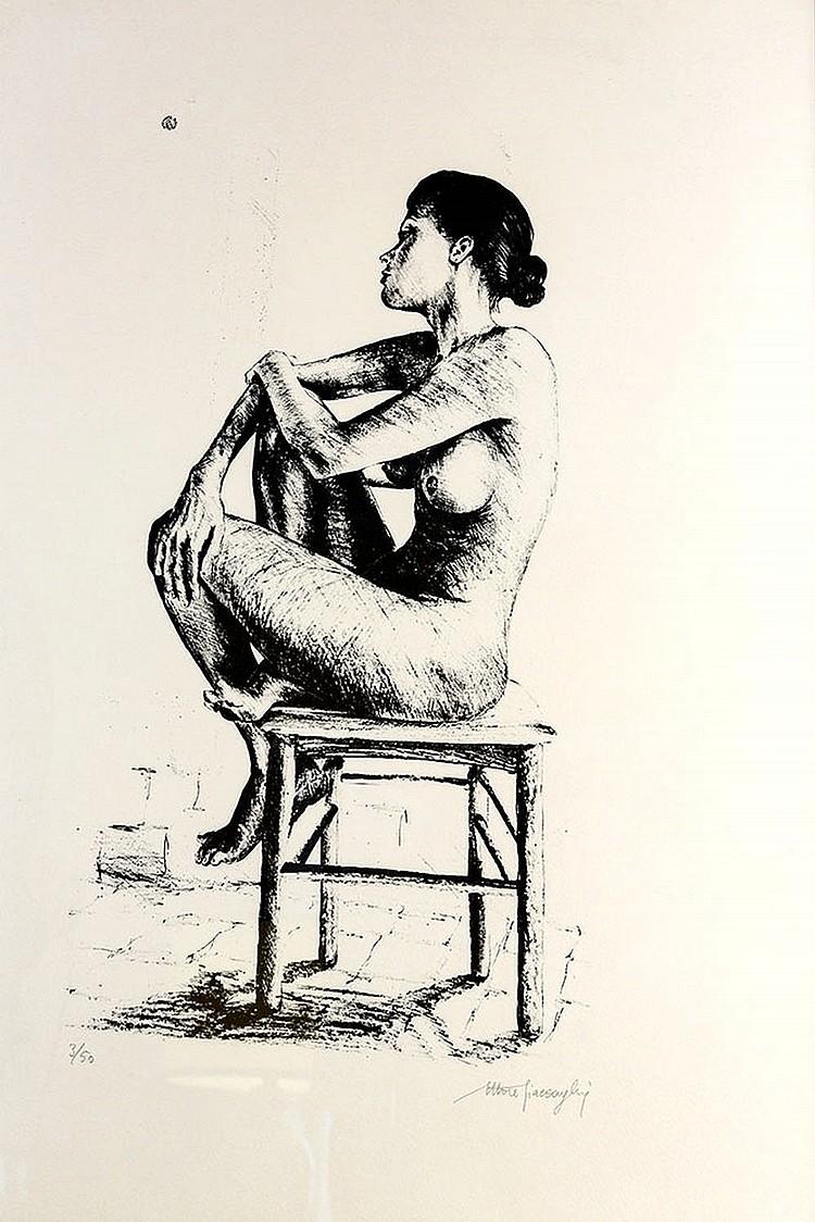 Ettore Giaccoglia, nude