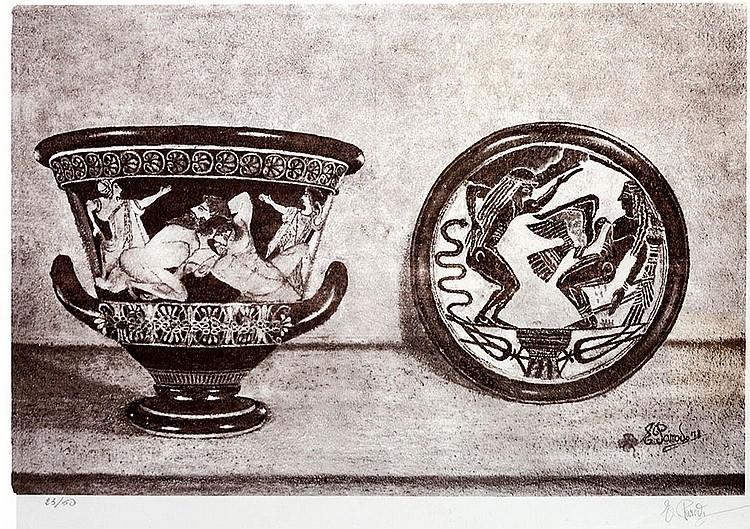 Maria Evelina Parodi, Greek vases