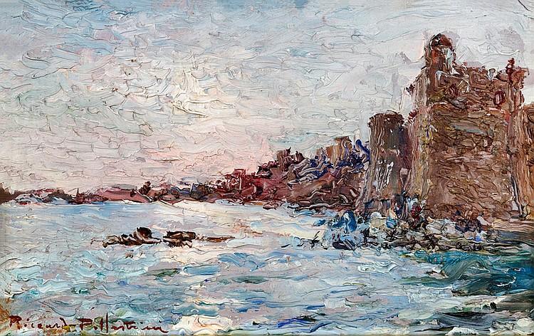 Riccardo Pollastrini (XIX-XX) The Coast