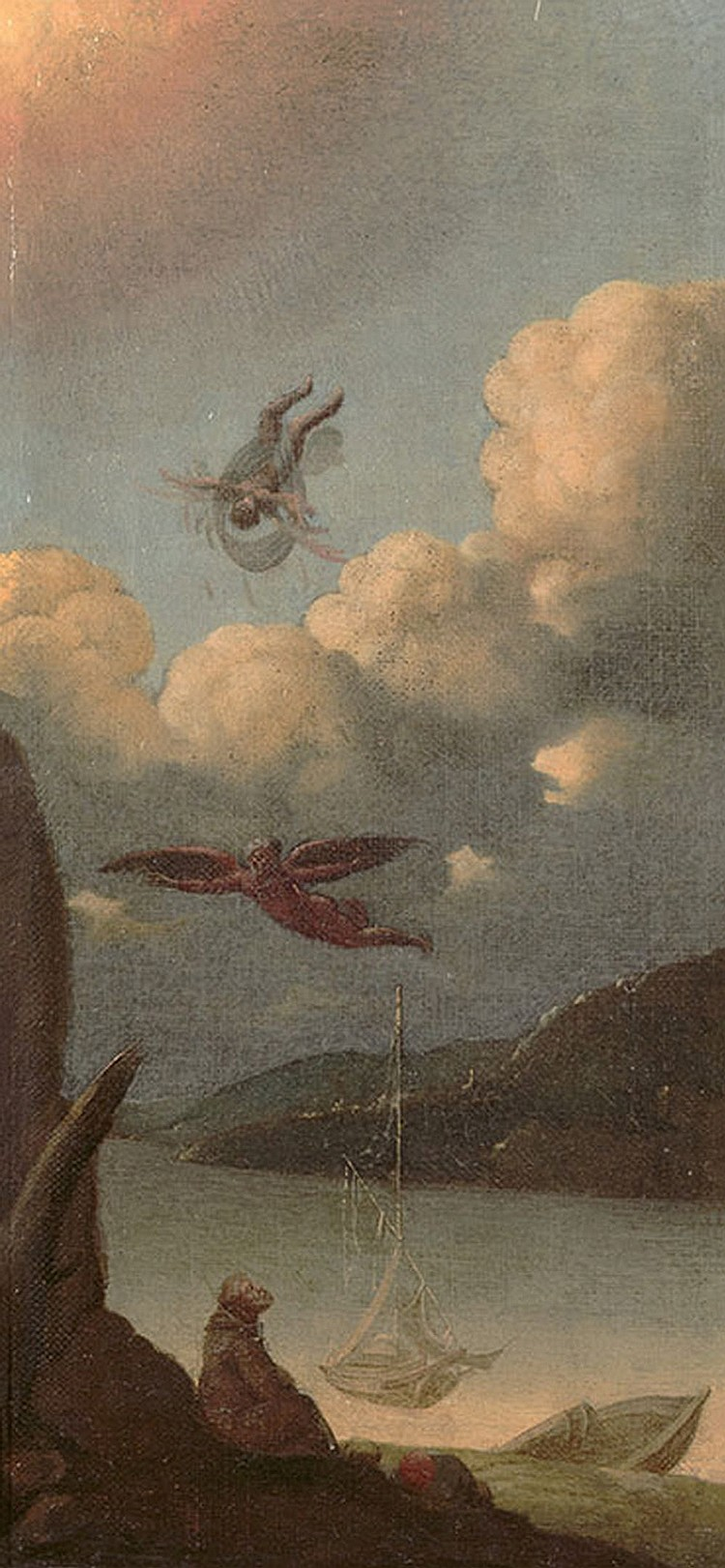 Italian school of the end of the XVIII century, Fall of Icarus
