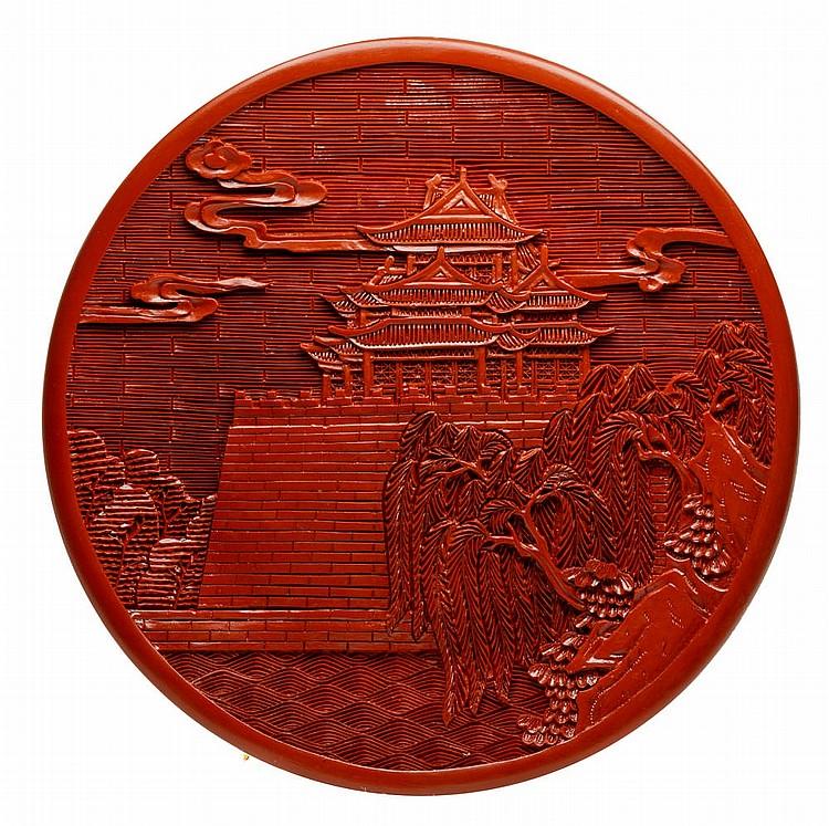 Small Japanese plate, XX century
