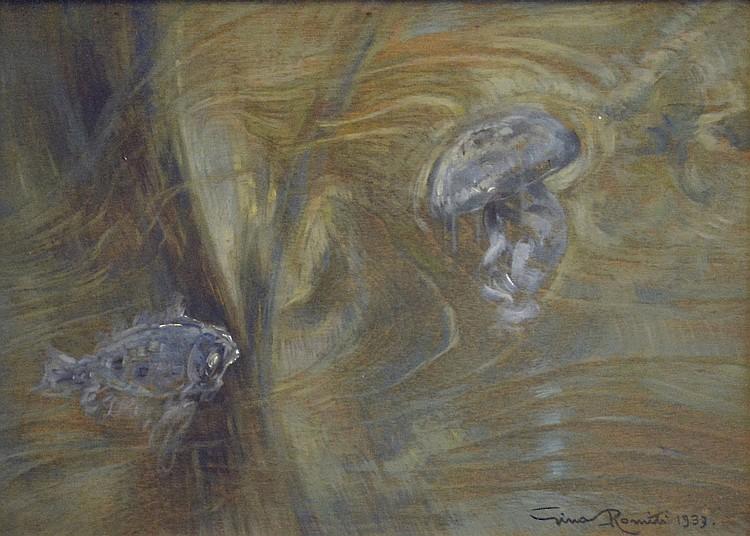 Gino Romiti, Sea bottom