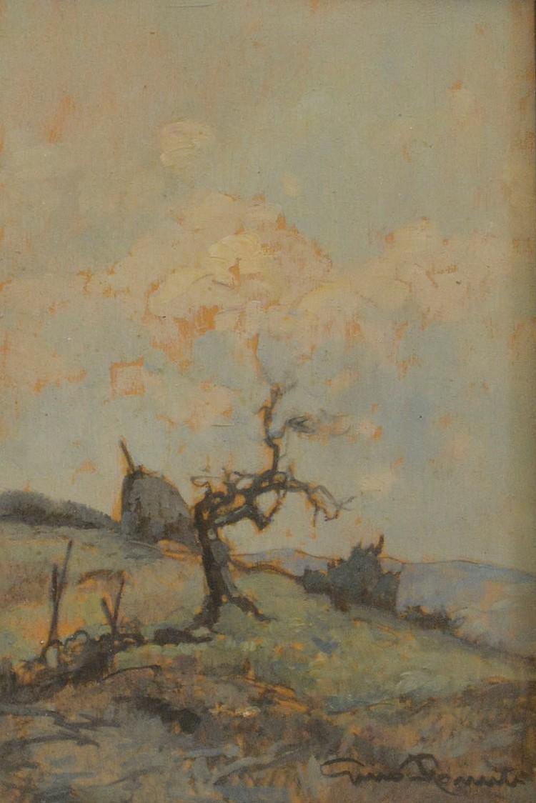 Gino Romiti, A tree, early 20th century,