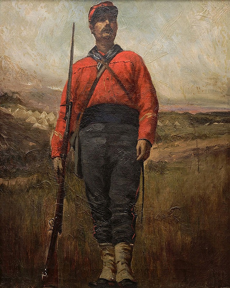 Painter of the XIX  century, Garibaldian