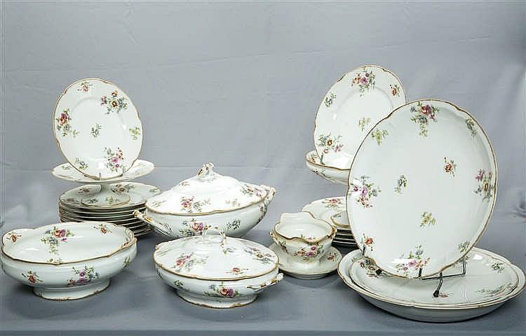Th odore haviland limoges partie de service en porcelaine - De haviland porcelaine ...