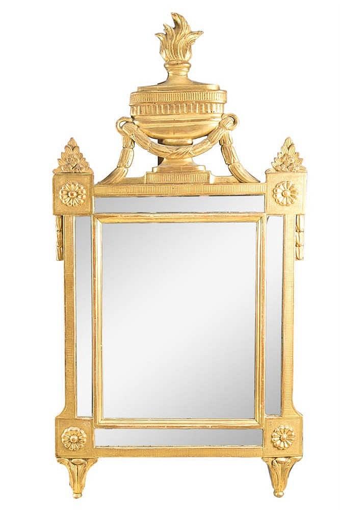 miroir en bois sculpt 233 et dor 233 louis xvi 224 parecloses et fro