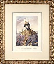Rudolph ZHUKOVSKY (1814-1886), Mikhail ZELENSKY (1843-1882). RUSSIAN TSAR BORIS FEDOROVICH GODUNOV.