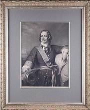 Louis Pierre HENRIQUEL-DUPONT (1797-1892), Paul DELAROCHE (1797-1856). RUSSIAN TSAR PETER THE GREAT.