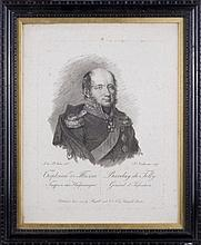 Francesco VENDRAMINI (1780-1856). BARCLAY DE TOLLY RUSSIAN GENERAL OF INFANTRY.