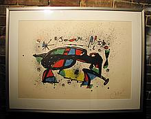 JOAN MIRO signed Lithograph c. 1970s