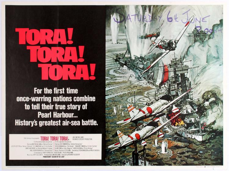 tora tora tora vs pearl harbor Comparing windtalkers and tora tora tora essay:: 2 works cited length: 1325 words (38 double-spaced pages) the untold story of pearl harbor with the film.