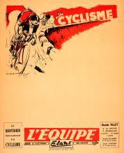 SPORT POSTER CYCLING TOUR DE FRANCE EQUIPE