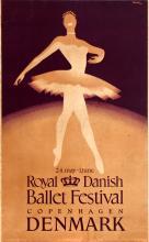 Advertising Poster Royal Danish Ballet Festival