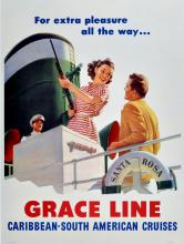 Advertising Poster Grace Line For Extra Pleasure Gun