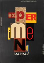 Advertising Poster Bauhaus Experiment Exhibition