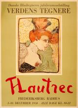 Advertising Poster Toulouse Lautrec Exhibition