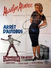 Movie Poster Bus Stop Marilyn Monroe