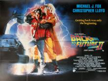 Movie Poster Back to the Future II UK