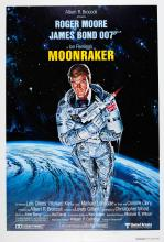 Movie Poster James Bond 007 Moonraker Style A