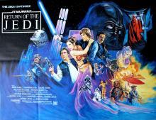 Movie Poster Star Wars Return of the Jedi Quad