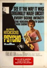 Movie Poster Psycho Hitchcock