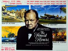 Movie Poster The Finest Hours Winston Churchill