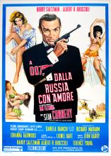 Movie Poster James Bond - From Russia With Love Italian