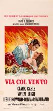 Movie Poster Gone with the Wind Italian Release