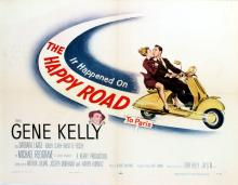 Movie Poster The Happy Road to Paris