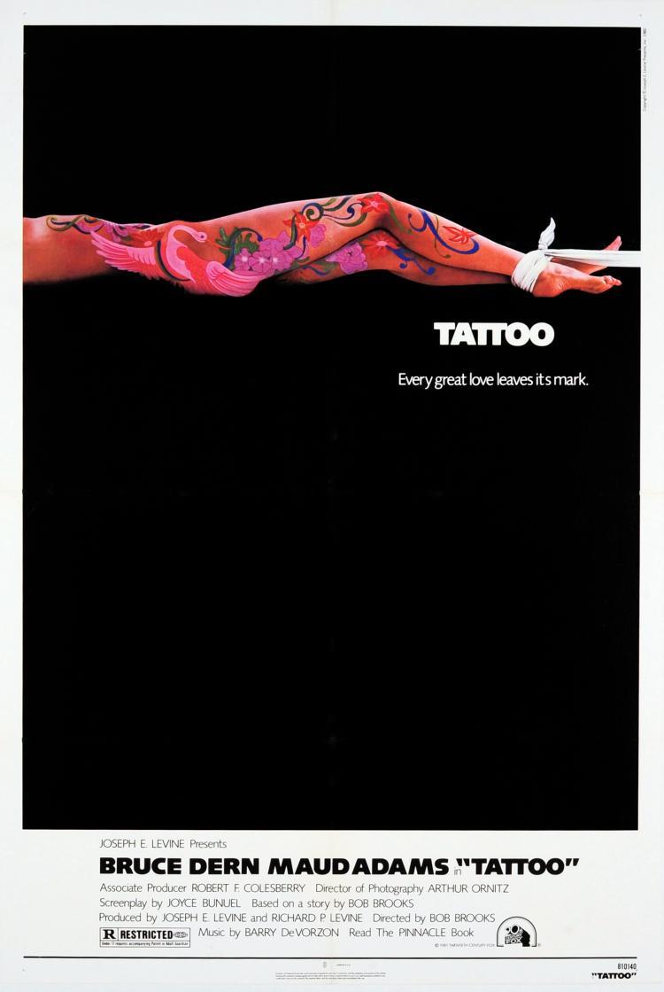 movie poster tattoo