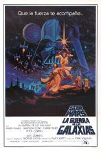 Movie Poster Star Wars Spanish Hildebrandt Brothers