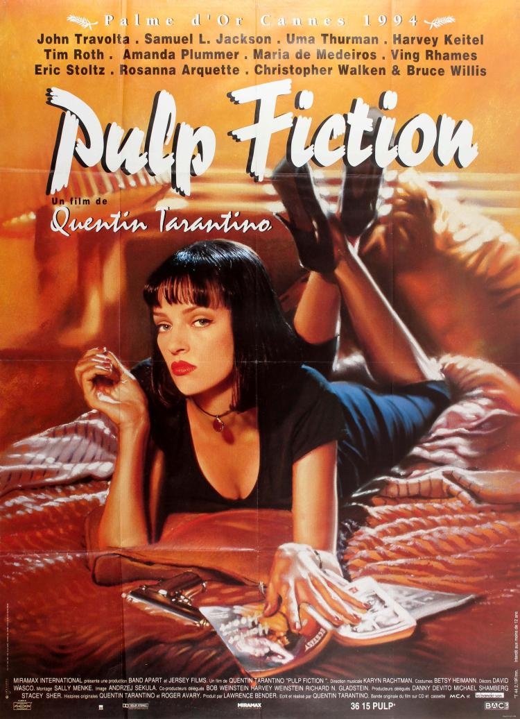 an overview of the movie pulp fiction directed by quentin tarantino Learn more about tim roth at tvguidecom with exclusive news,  pulp fiction amc innovative, highly stylized crime drama by director quentin tarantino,.