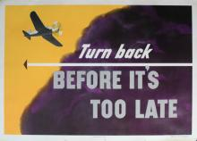 Propaganda Poster Turn Back Before It's Too Late