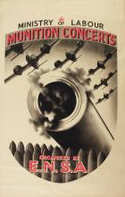 Propaganda Poster Munition Concerts