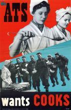 Propaganda Poster ATS Wants Cooks
