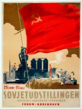 Propaganda Poster Soviet Exhibition - Copenhagen