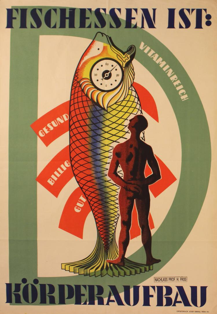 Propaganda poster fish is good for you for What fish is good for you
