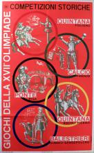 Sport Poster XVII Rome Olympics - Historic Games